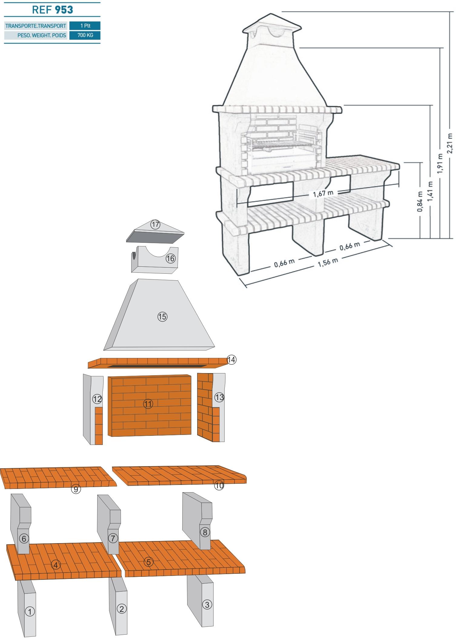 Как построить кирпичную печь 34