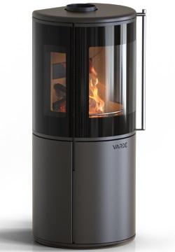 Печь камин VARDE Nordic 9 AIR (чёрный)