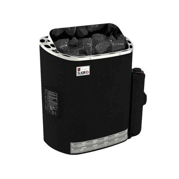 Электрокаменка SAWO SCANDIA с термопокрытием (со встроенным пультом)