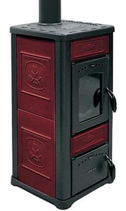 Печь LINCAR Alice 480 L Rosso