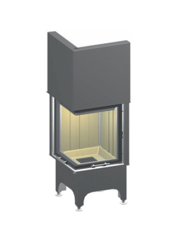 Топка камина SPARTHERM Mini 2LRh Linear 4S