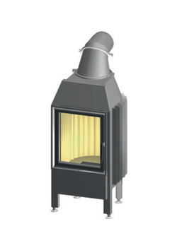 Топка камина SPARTHERM Mini Z1 7 kW Linear 4S