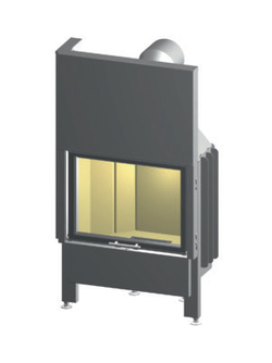 Топка камина SPARTHERM Speedy 1Vh Linear 4S