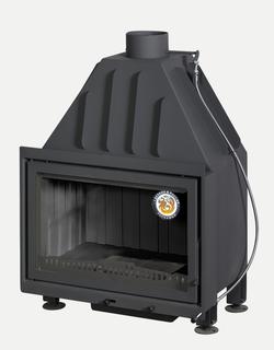 Топка камина ЭКОКАМИН Альфа 700 черный шамот (150 мм)