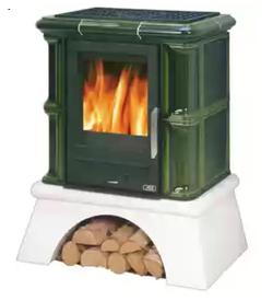 Изразцовая печь ABX Bavaria K (сельский цоколь)