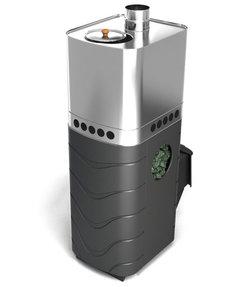 Печь для бани ТМФ Бирюса 2013 Carbon ДА ЗК антрацит
