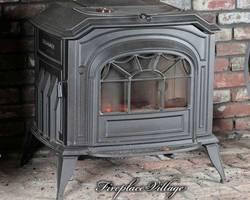 Печь камин Resolute Acclaim Classic Black (б/к)