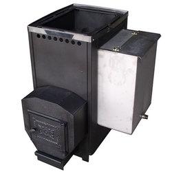 Печь для бани ВАРВАРА бак 55 л, вынос 160 мм