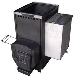 Печь для бани ВАРВАРА бак 55 л, вынос 300 мм